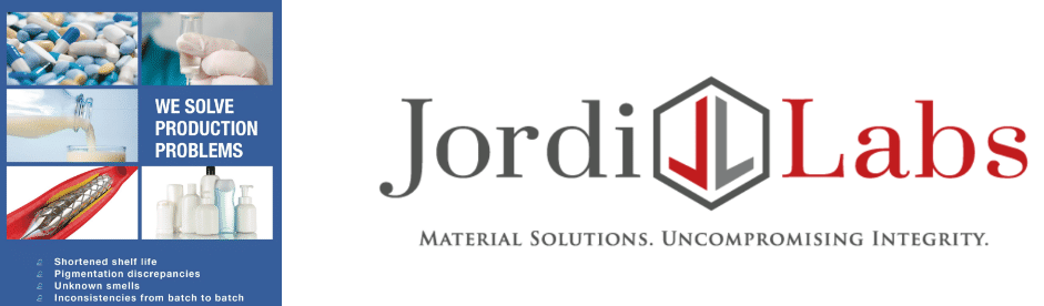 Jordi Labs brochure and logo